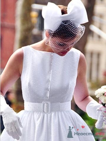 Свадебное платье в стиле ретро, стиль стиляги.