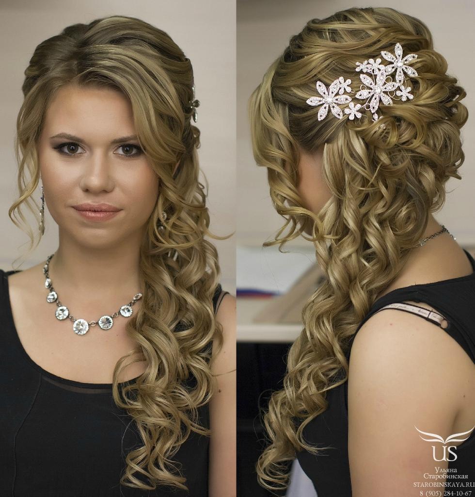Свадебная прическа и макияж - 89a