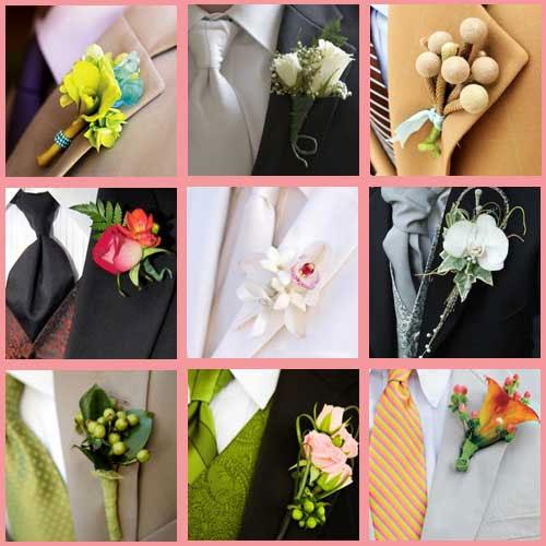 Чтобы смотреться более гармонично с невестой, лучше использовать цветок, лидирующий в... Жених имеет полное право...