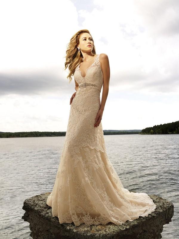 Платье цвета айвори фото 3