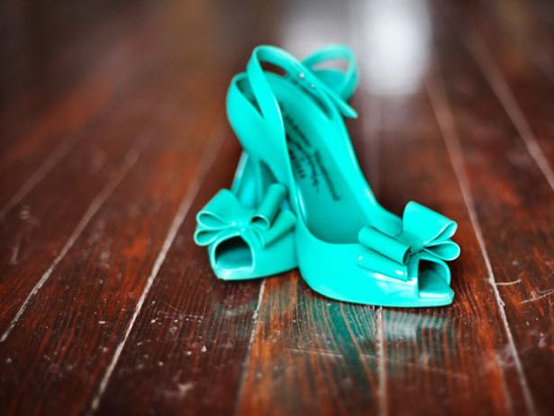 Бирюзовые туфли, фото