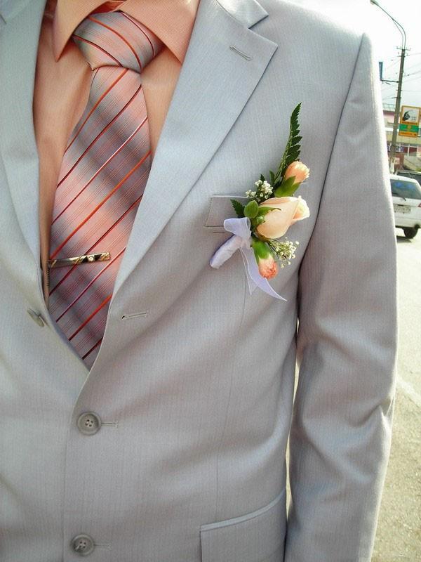 Цветок для жениха на костюм своими руками - Интерьерный свет