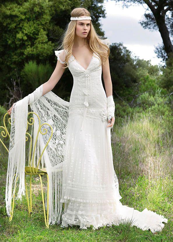 Свадебные платья с вязаными вставками - 10 Марта 2015 - Blog