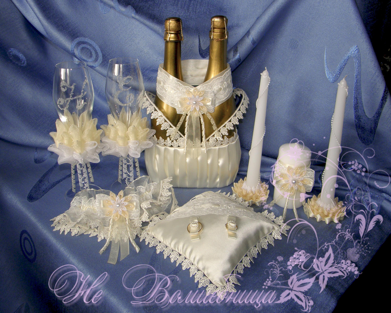 Свадебный набор своими руками мастер класс