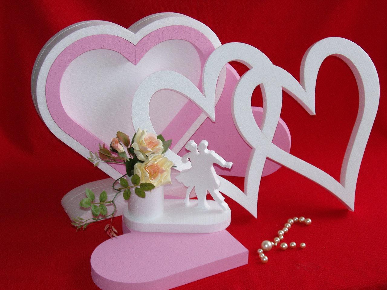 Сделать сердца на свадьбу своими руками