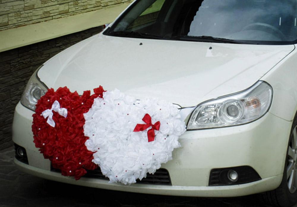 Своими руками украшения для свадьбы на машину