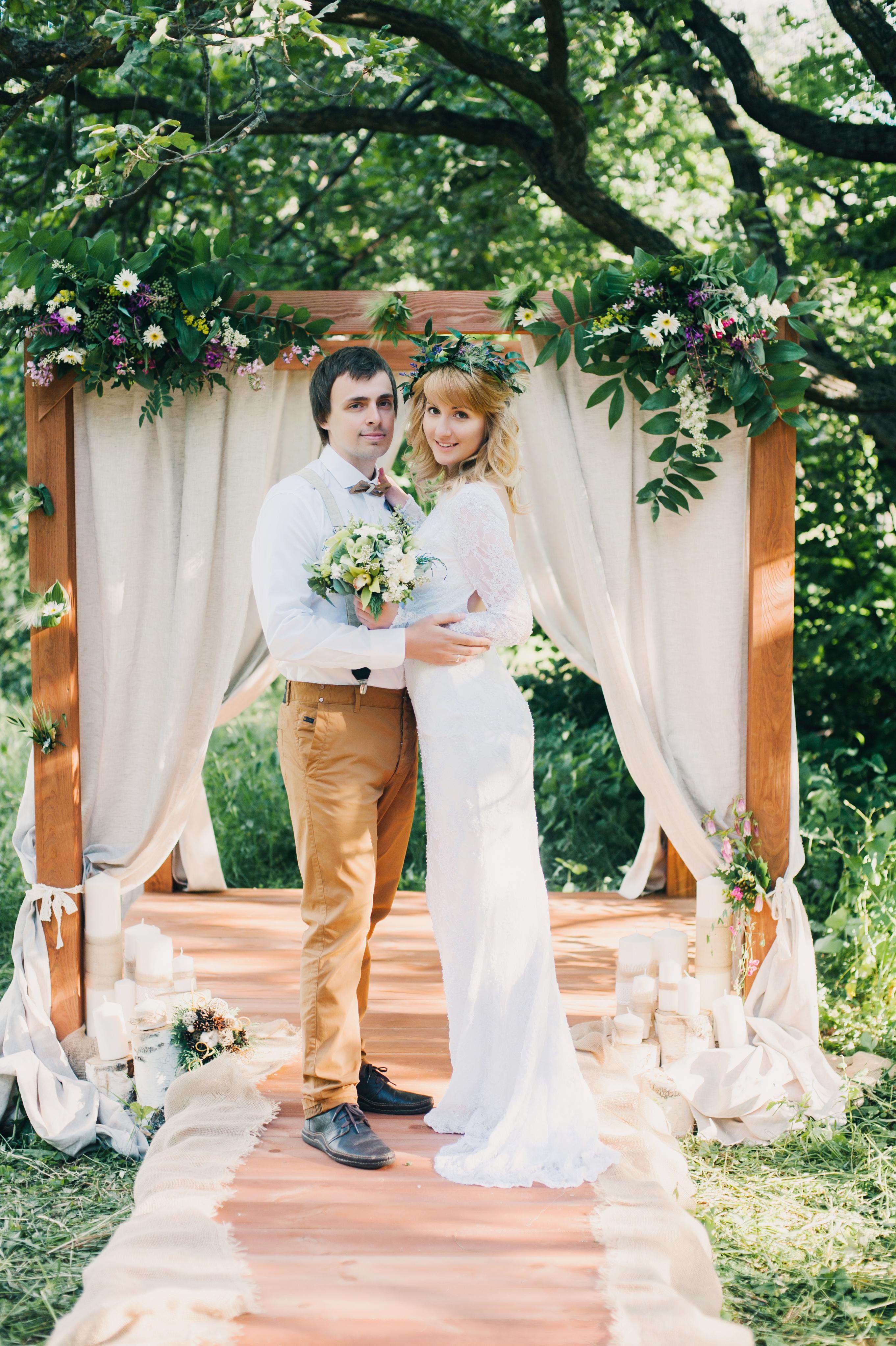 свадебные платья 1990 год фото