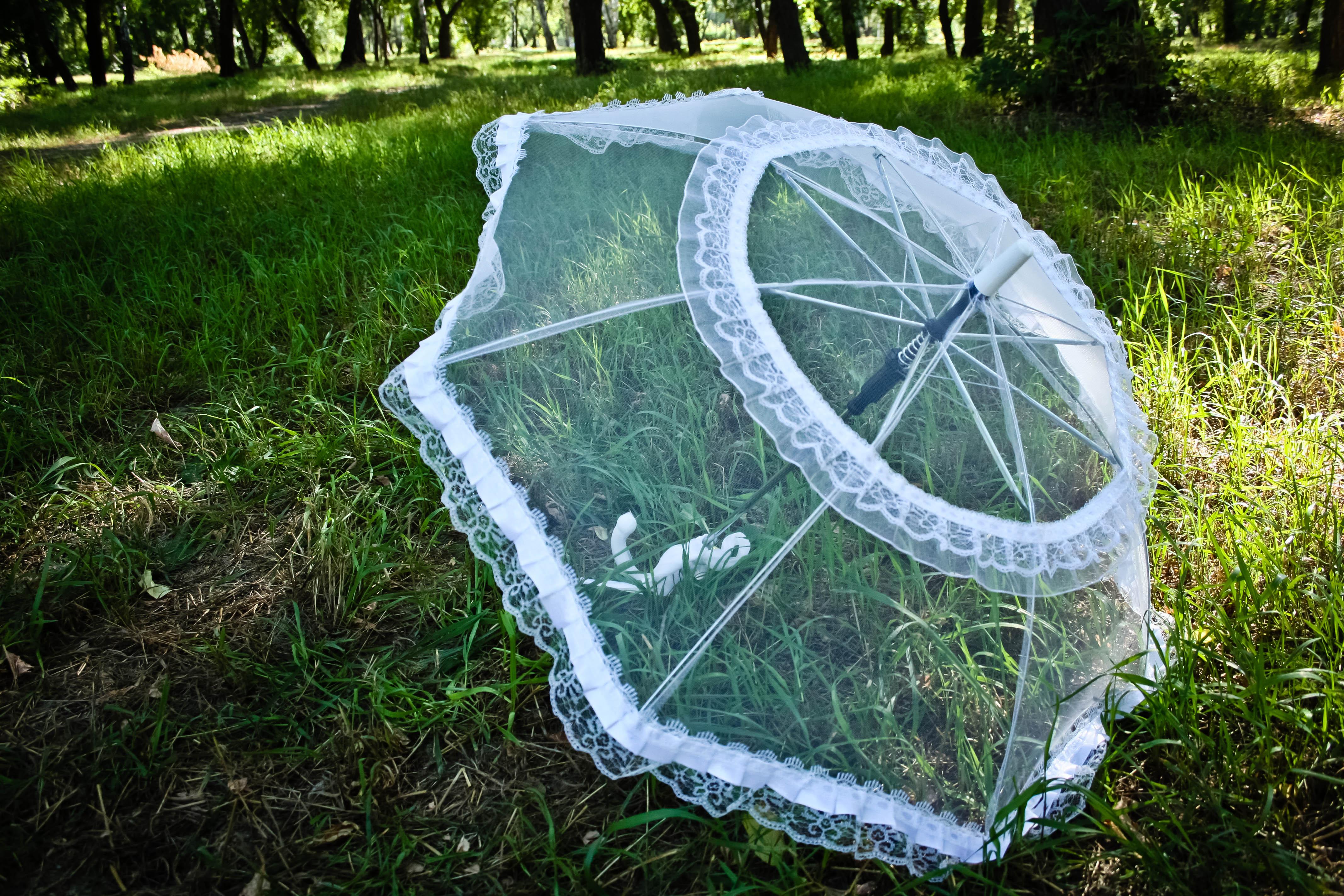 Свадебный зонт популярные модели 78