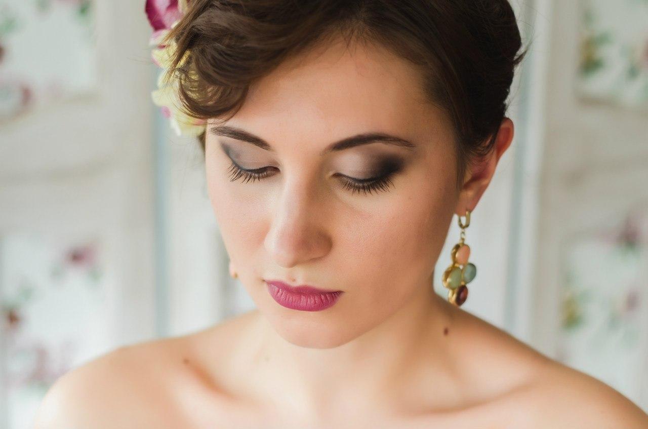 Прически и макияж на фотосессию фото