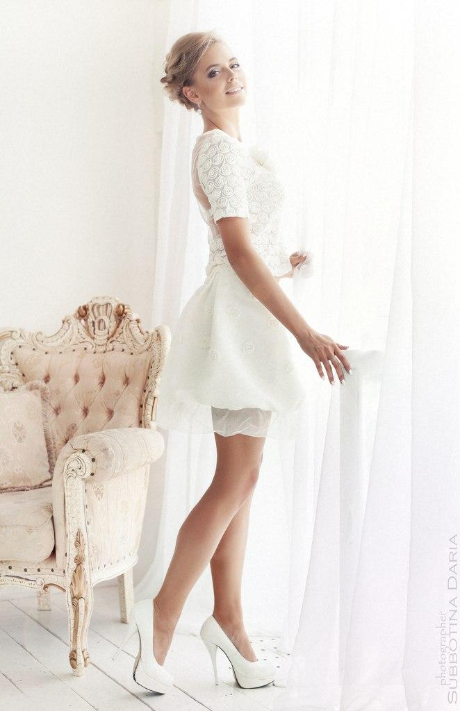 Короткое белое платье екатеринбург