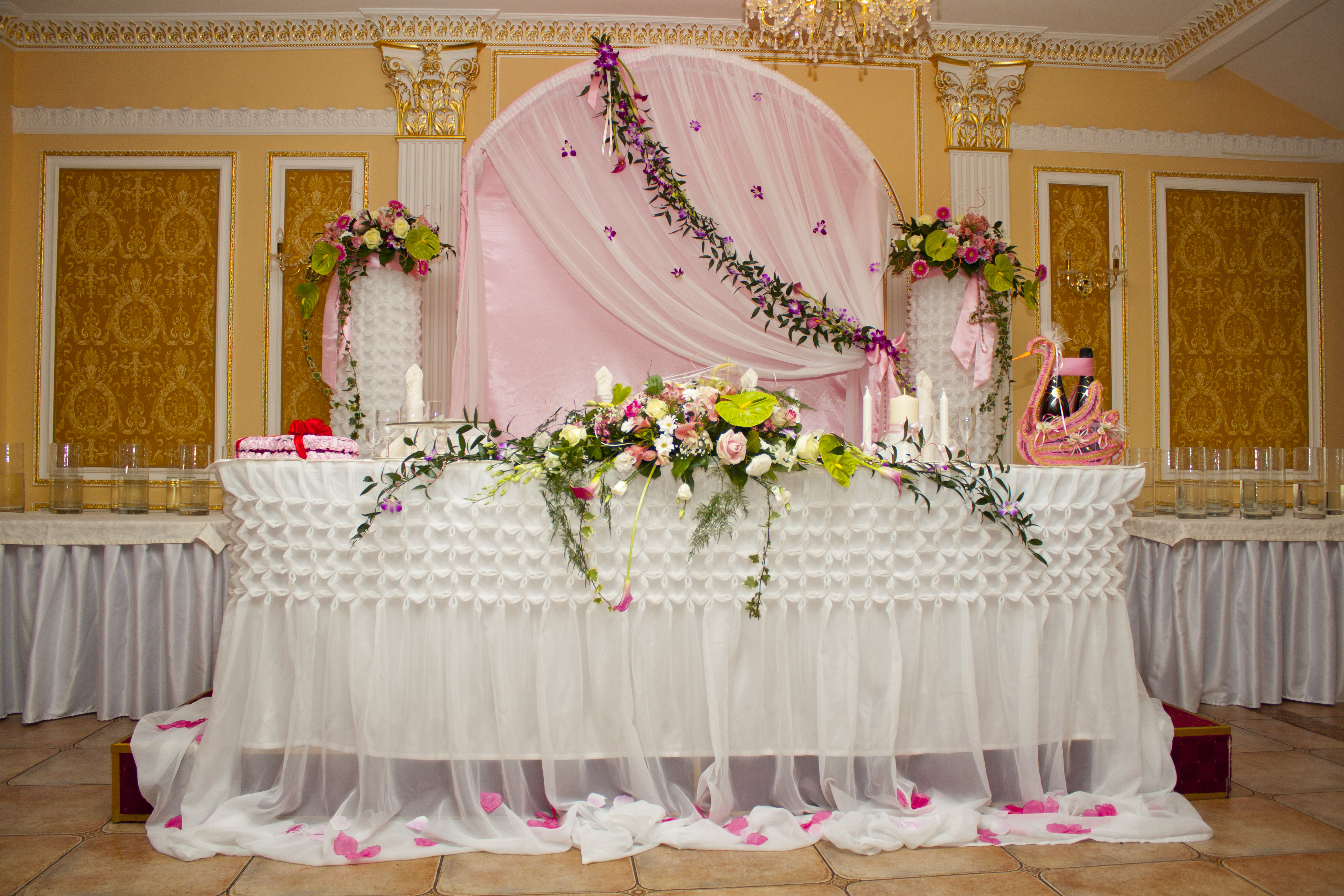 Свадьба в розовом цвете: фото и идеи 85