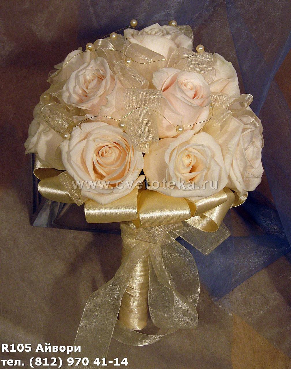 Роза цвет айвори фото 2