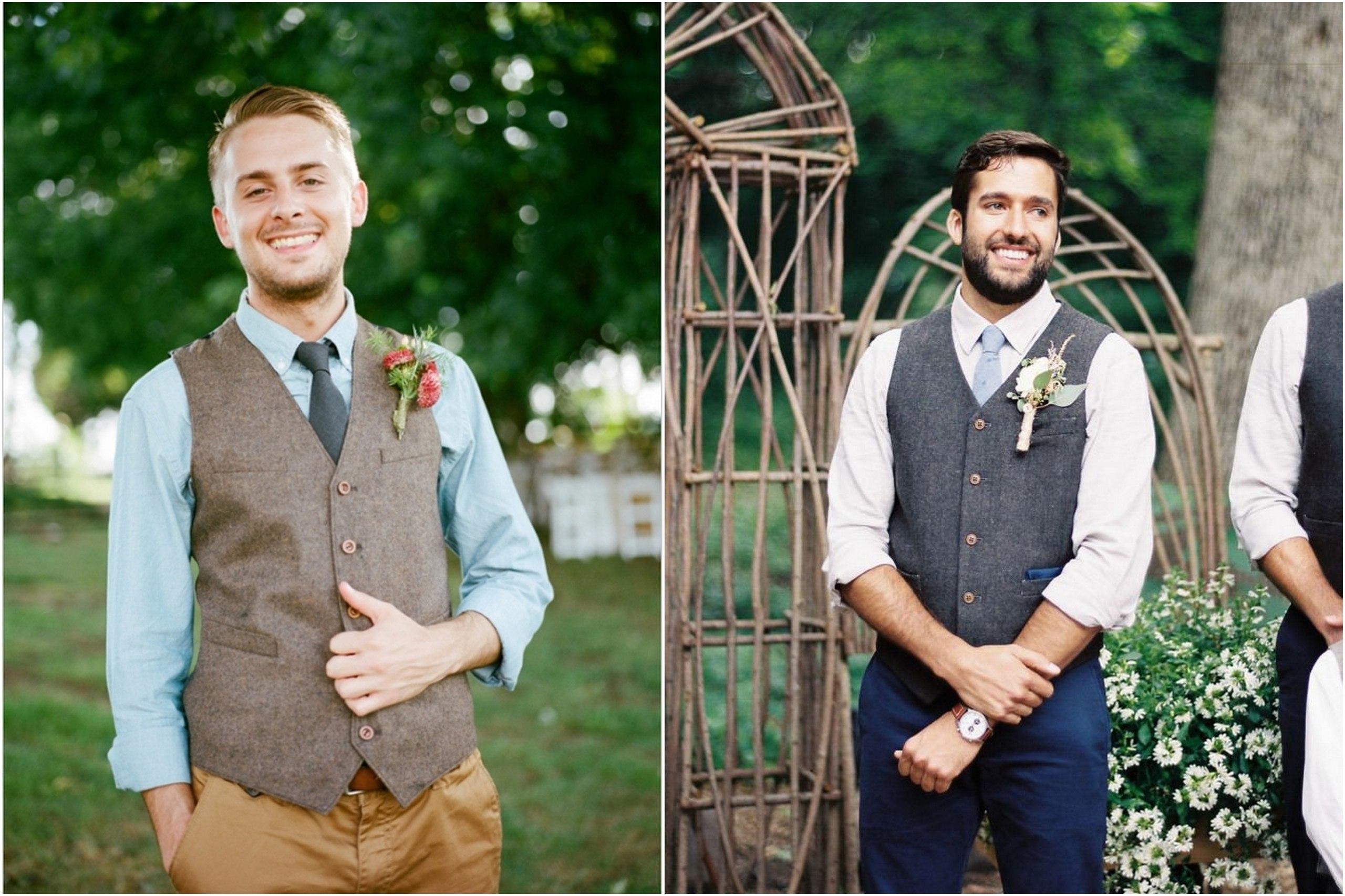 Мужской жилет на свадьбу фото