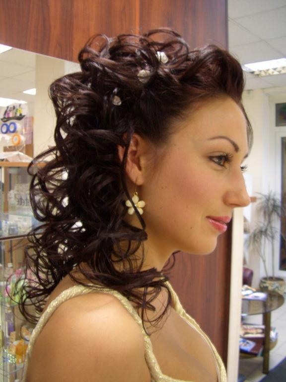 Прическа стружка на длинные волосы