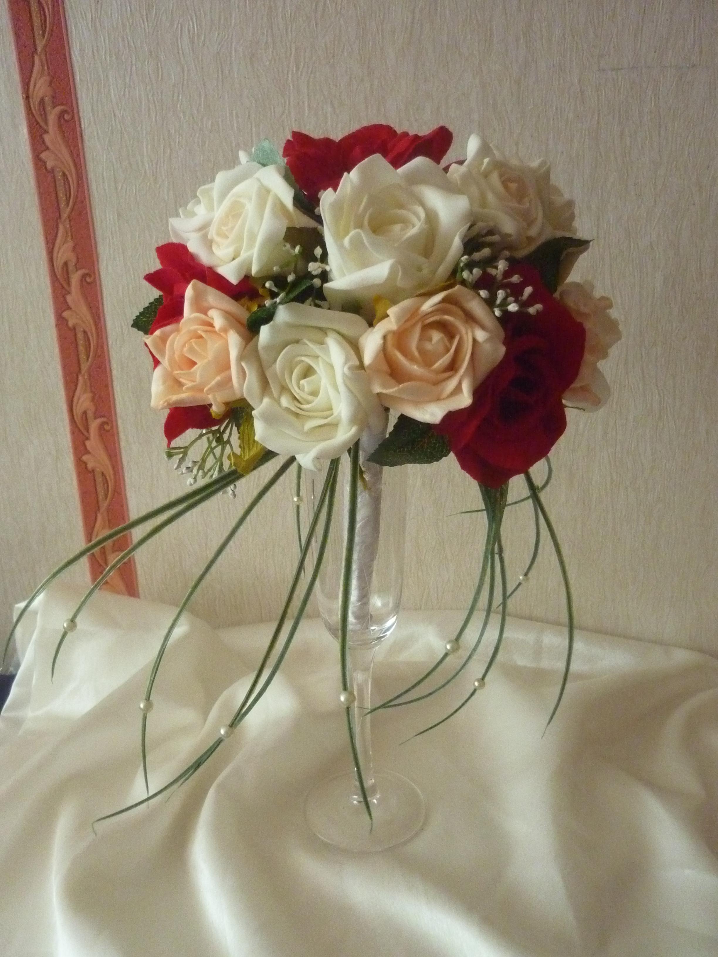 Как сделать букет для невесты своими руками фото