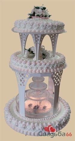 Необычный свадебный торт. - фото 19 simik