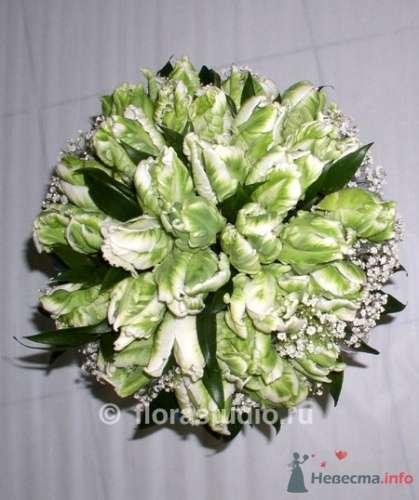 Зеленый букет невесты. - фото 33 simik