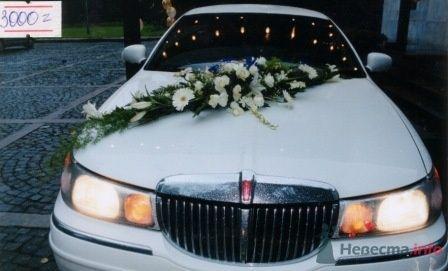 Украшение лимузина цветами на свадьбу. - фото 51 simik