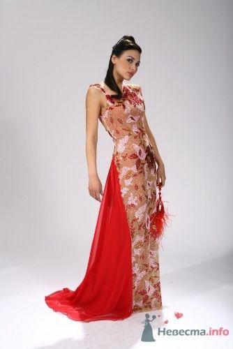 """New collection Красное с вышивкой - фото 4347 Салон-ателье высокой моды """"Александра"""""""