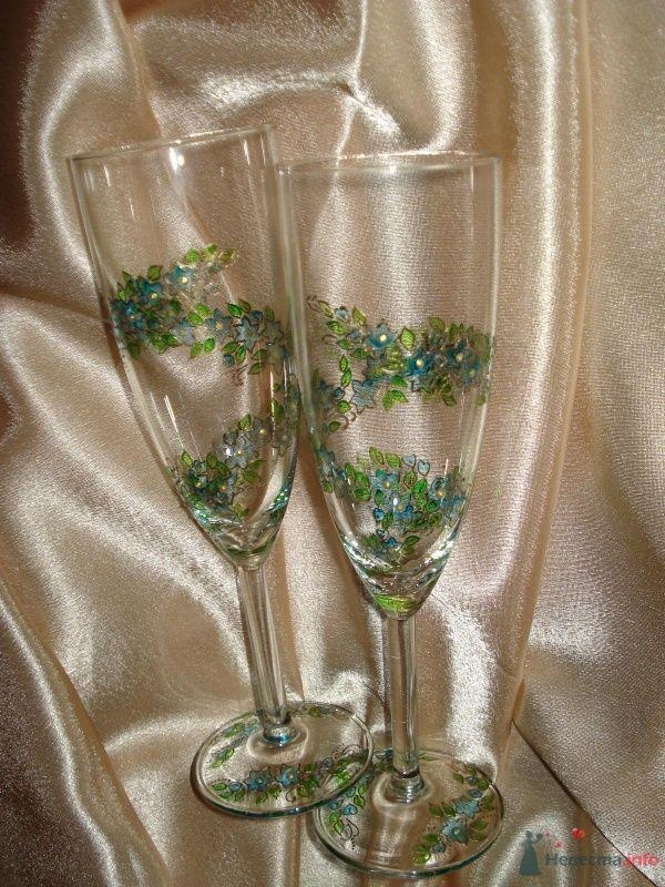 """Бокалы под шампанское - фото 69282 Свадебное агентство """"Велес"""""""