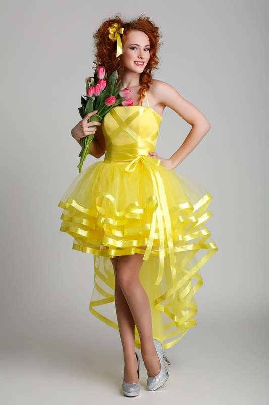 Фото оригинальные платья на выпускной