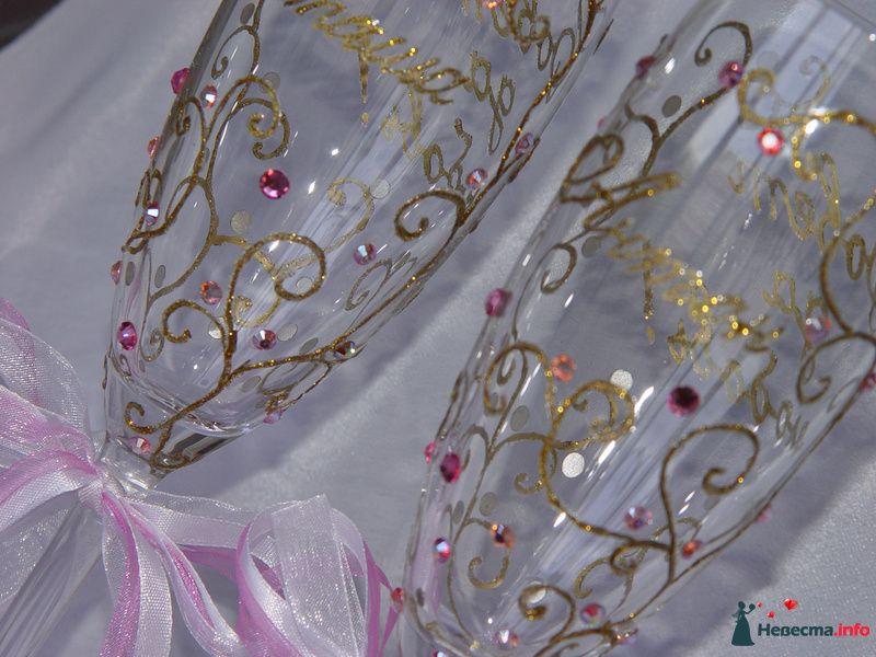 """Розовые брызги - фото 124566 """"Свадебный Бум"""" - свадебные принадлежности"""