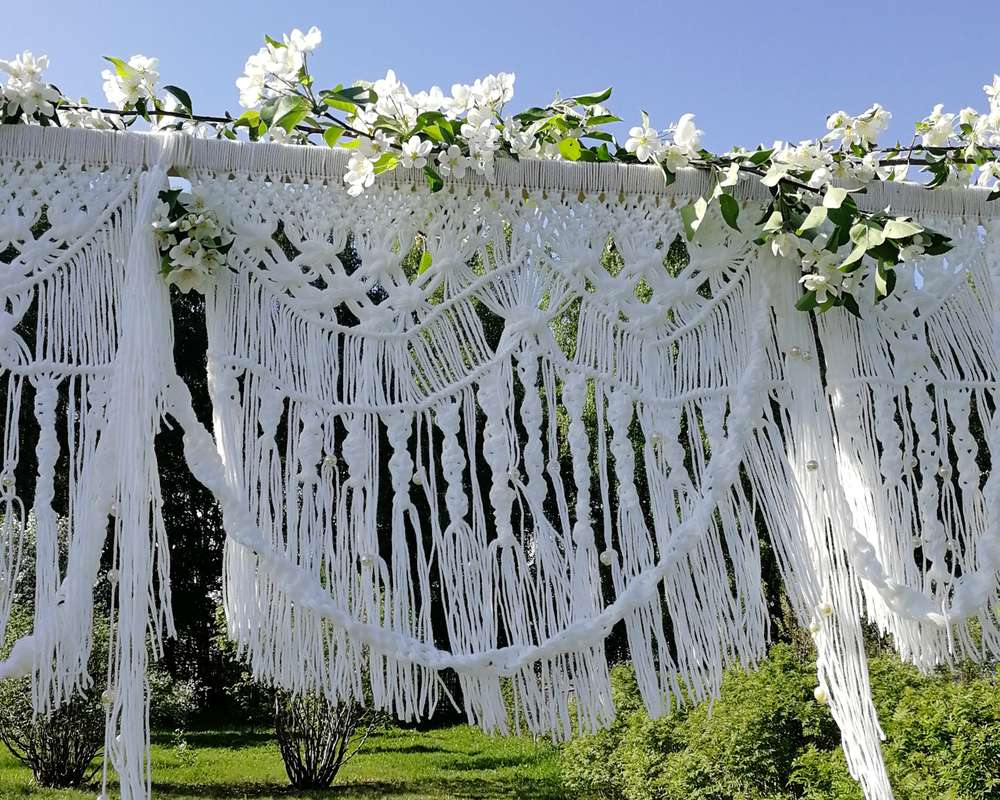 Фото 19653453 в коллекции Арка на свадьбу в стиле рустик, эко или бохо - Декоратор Алина Шубина
