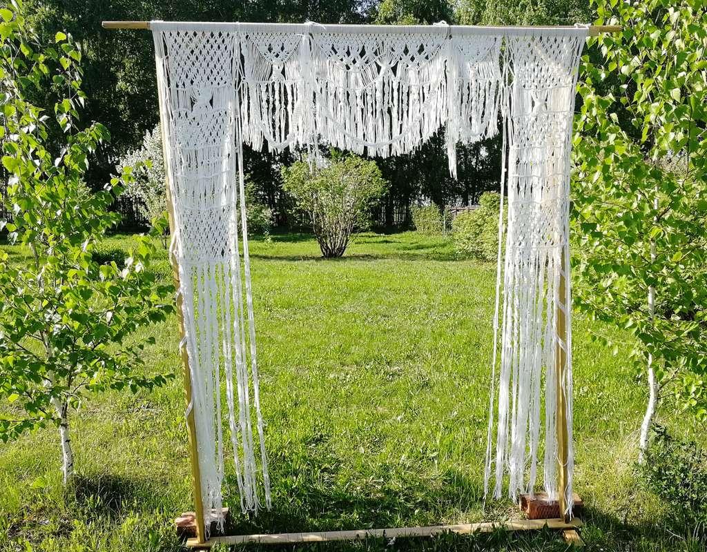 Фото 19653467 в коллекции Арка на свадьбу в стиле рустик, эко или бохо - Декоратор Алина Шубина