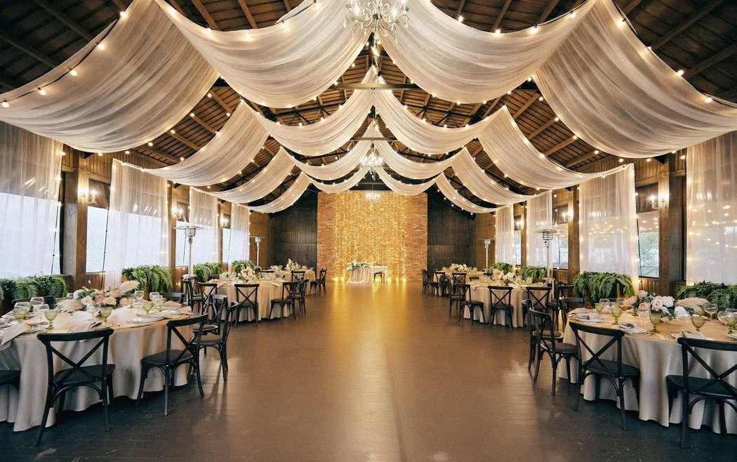"""Идеальная веранда для свадьбы за городом доя 120 персон.  Загородная свадебная площадка Ранчо. - фото 19767605 Свадебная площадка """"Ранчо"""""""