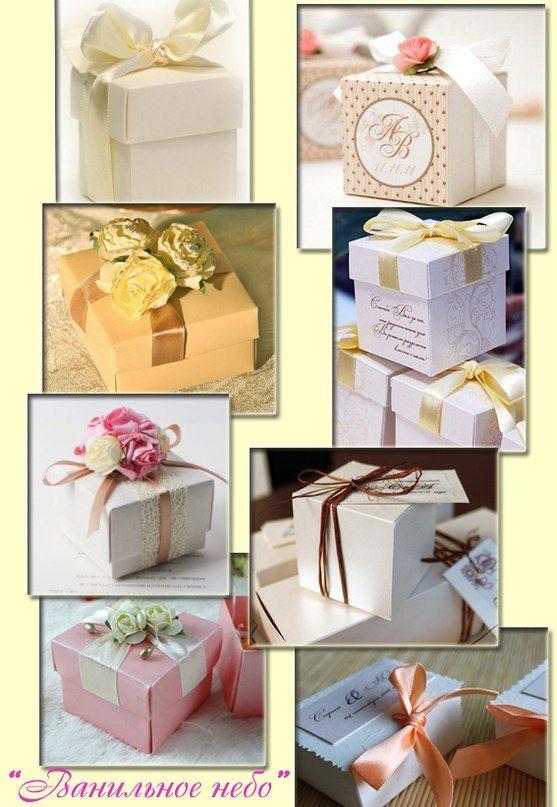 """Подарочные коробочки на свадьбу,день рожденья,девичник,для гостей,в которых может быть конфета,камушки,зернышка кофе,да и всё что угодно))) Вручаются гостям, во время Вашего торжества)))) - фото 862625 """"Ванильное небо"""" - свадебные аксессуары"""