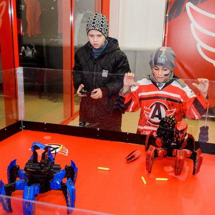 Битва роботов в аренду