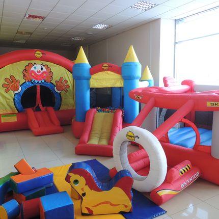 Детская зона на празднике