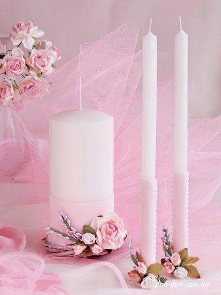 """свечи Семейный очаг Шебби - фото 12777312 Свадебные бонбоньерки """"Бон-бон"""""""
