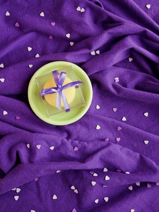 """Коробочка прозрачная, 6*6*3 см, пр-во Италия, идеальна для 1 макарон - фото 18188730 Свадебные бонбоньерки """"Бон-бон"""""""