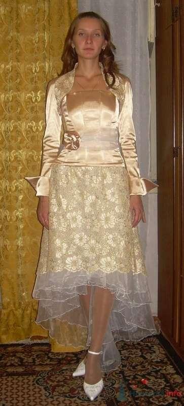 Комплект свадебный Золотой - фото 63141 Ателье свадебной и вечерней одежды Ирины Балявиной