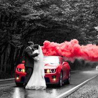 Цветной дым для фотосесии