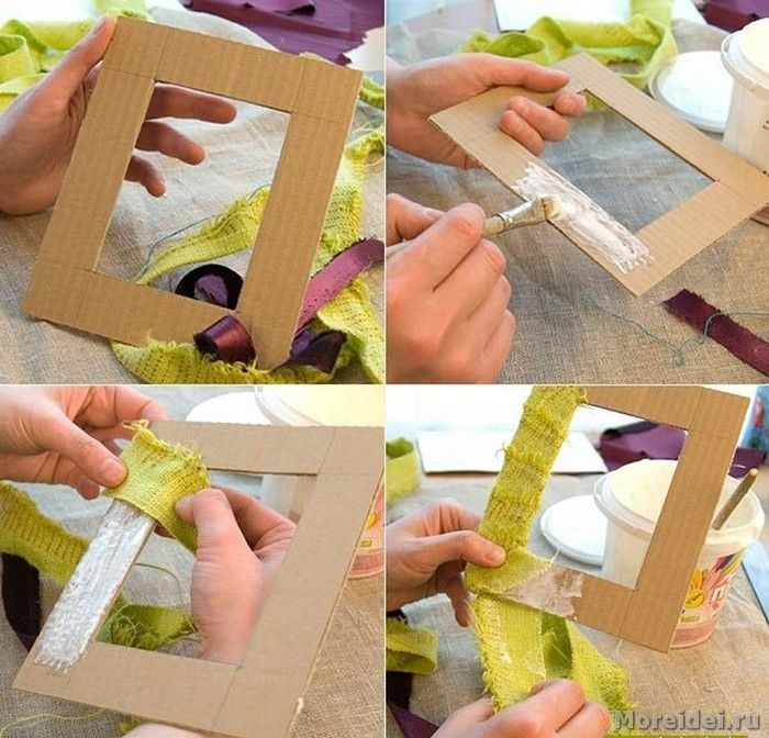 Рамочки для фотографий своими руками