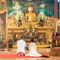 Церемония в тайском храме