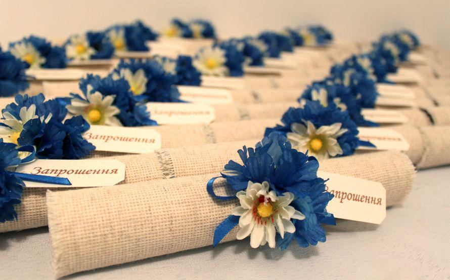 приглашения на свадьбу - фото 570725 Творческая мастерская Оксаны Кушнир