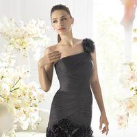 Черное платье для подружки невесты