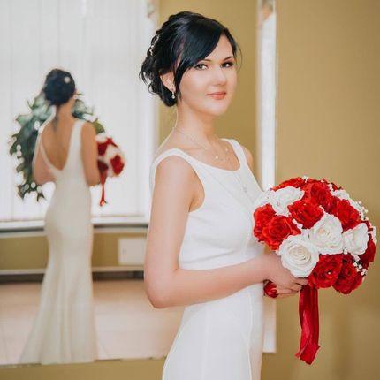 Букет невесты из фруктов или сладостей