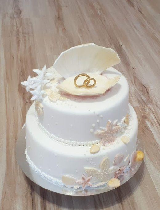 Торт в морском стиле, от 6 кг