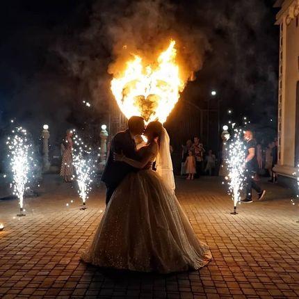 Церемония зажжения огненного сердца