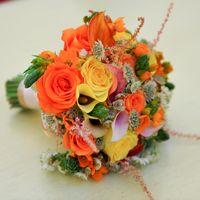 Необычное сочетание ярких цветов и красок !!!! Зато красиво !