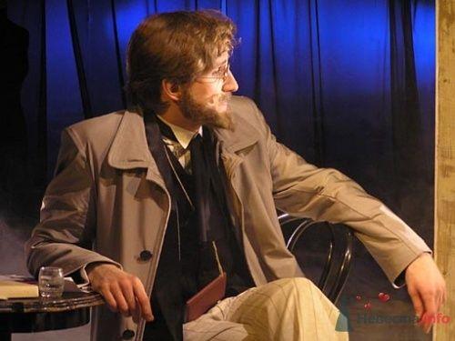 "В роли Бориса Тригорина ""Чайка"" А.П. Чехова, 2004 год. - фото 3564 Невеста01"