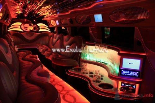 Фото 4210 в коллекции Лимузин Hummer H2 - Экзотические лимузины - аренда лимузинов
