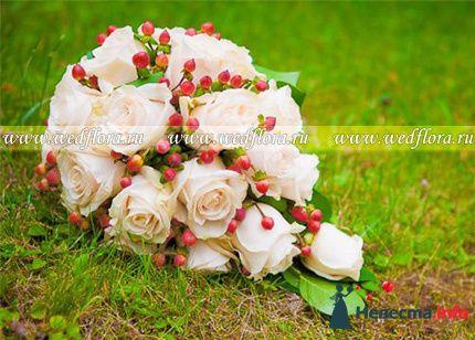 Фото 90125 в коллекции Букет невесты, подружек, и бутоньерка жениха! - Невеста Настенька