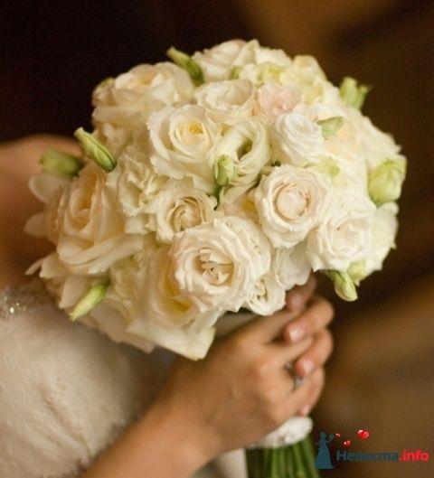 Фото 90132 в коллекции Букет невесты, подружек, и бутоньерка жениха!