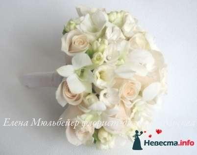 Фото 90145 в коллекции Букет невесты, подружек, и бутоньерка жениха! - Невеста Настенька