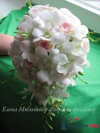 Фото 90190 в коллекции Букет невесты, подружек, и бутоньерка жениха! - Невеста Настенька
